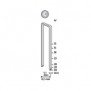 Кламери NOVUS 4/30мм, тип 4/C, с тесен гръб, 1100бр/блистер - small, 94351