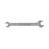 Ключ гаечен MOB&IUS 17-19мм, DIN 3110, CrV, закален, хромиран