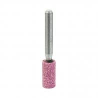 Абразивен шлайфгрифер SWATYCOMET 10х20х6мм, форма OB-цилиндър, цвят розов, 40А