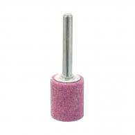 Абразивен шлайфгрифер SWATYCOMET 20х25х6мм, форма OB-цилиндър, цвят розов, 40А