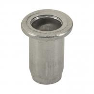Нит гайка BRALO М4/L=9.5мм, алуминиева с плоска периферия, 500бр. в кутия