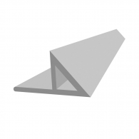 Профил за ъгъл колона REUSS-SEIFERT Dekokant 4/15, 2.5м 15x21x30мм, в опаковка 100м