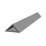 Профил за ъгъл колона REUSS-SEIFERT Dreikant II/20, 2.5м 20х20х28мм в опаковка 100м