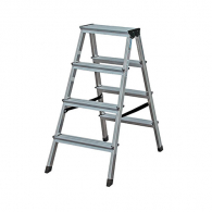 Алуминиевa стълба ELKOP DHR404 3+1, 865мм(на стълбата), двустранна,  за домашна употреба, 150г.