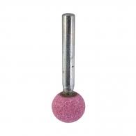 Абразивен шлайфгрифер SWATYCOMET 16х16х6мм, форма OH-сферичен, цвят розов, 40А