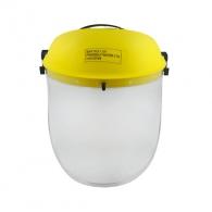 Шлем DECOREX, прозрачен, поликарбонат, 25см