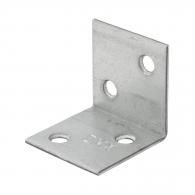 Планкa DOMAX KSO 1, 30х30х30x1.5мм, монтажен ъгъл, широка, 50бр. в опаковка