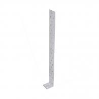 Планкa DOMAX KK 3, 40х40х400x2.0мм, монтажен ъгъл, 20бр. в опаковка