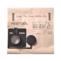 Торбичка филтърна FESTOOL FIS-CT 22/5, за прахосмукачка: CT 22, за еднократна употреба