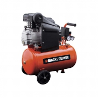Компресор BLACK&DECKER BD 205/24, 24l, 8bar, 210 l/min, 1.5kW, 2.0hp, 230V