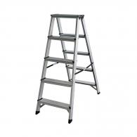 Алуминиевa стълба ELKOP DHR405 4+1, 1081мм(на стълбата), двустранна, за домашна употреба, 150кг.
