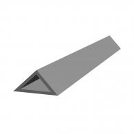 Профил за ъгъл колона REUSS-SEIFERT Dreikant II/25, 2.5м 25х25х35мм, в опаковка 50м