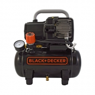 Компресор BLACK&DECKER BD 195/6 NK, 6l, 8bar, 180 l/min, 1.1kW, 1.5hp, 230V