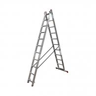 Алуминиевa стълба KRAUSE CORDA 2х11, 4050/6200мм(на стълбата), двустранна, професионална, 150кг.