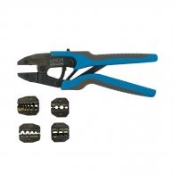Клещи кримпващи UNIOR AG, двуцветни-двукомпонентни дръжки