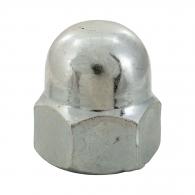 Гайка калпачата DIN1587 M6, кл.5, Zn, 1500бр. в кутия